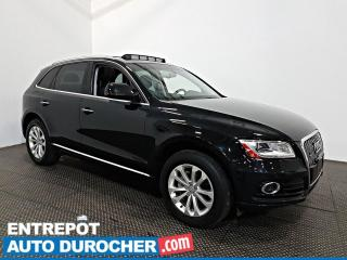 Used 2016 Audi Q5 2.0T Progressiv AWD NAVIGATION - Toit Ouvrant A/C for sale in Laval, QC