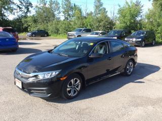Used 2016 Honda Civic Sedan LX - 6 SPEED MANUAL - A/C -  BACK UP CAMERA! for sale in Ottawa, ON