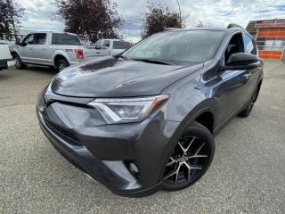 Used 2018 Toyota RAV4 AWD SE NAV, SUNROOF, LANE DEPARTURE, BACK UP CAMERA & MORE for sale in Calgary, AB