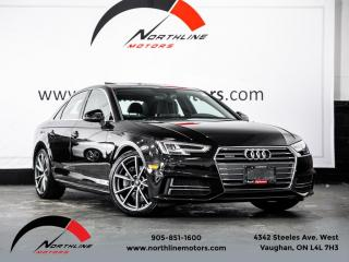 Used 2017 Audi A4 Quattro Progressiv S-Line 6 Speed Manual Navigation Camera for sale in Vaughan, ON