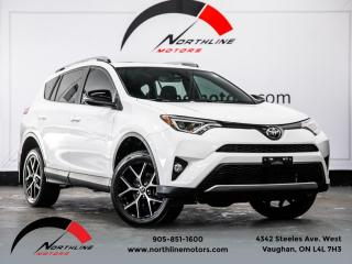 Used 2017 Toyota RAV4 SE AWD|Navigation|Blindspot|Camera|Sunroof|Heated Seats for sale in Vaughan, ON