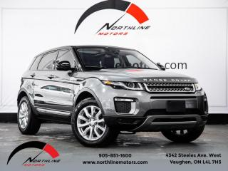 Used 2016 Land Rover Evoque SE|Navigation|Camera|Pano Roof|Heated Leather for sale in Vaughan, ON