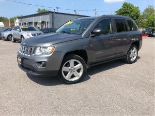 Used 2012 Jeep Compass 4WD 4dr Limited Leather Sunroof for sale in St Catharines, ON