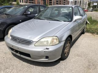 Used 1999 Honda Civic 4dr Sdn EX-G Auto w/Air Cond/ABS for sale in Markham, ON
