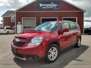 Used 2012 Chevrolet Orlando LT for sale in Dunnville, ON