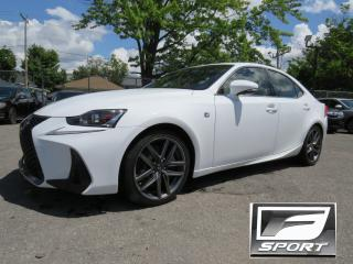 Used 2017 Lexus IS 300 AWD F SPORT 2 CUIR ROUGE NAVIGATION CAMERA MAGS 18 for sale in St-Eustache, QC