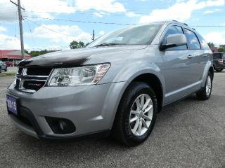 Used 2015 Dodge Journey SXT | Navigation | Sunroof | DVD for sale in Essex, ON