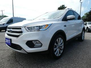Used 2017 Ford Escape Titanium | Panoramic Roof | Remote Start | Navigation for sale in Essex, ON