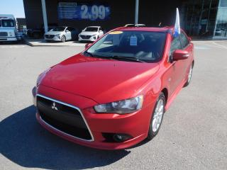 Used 2015 Mitsubishi Lancer MANUEL,SE,FWD,A/C,BANCS CHAUFFANTS,TOIT,VITRES for sale in Mirabel, QC