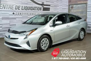 Used 2017 Toyota Prius BLUETOOTH+CAM DE RECUL+PUSH BUTTON START for sale in Laval, QC