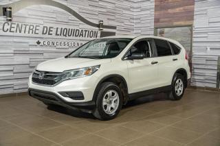 Used 2015 Honda CR-V LX AWD+BLUETOOTH+AIR CLIM. for sale in Laval, QC