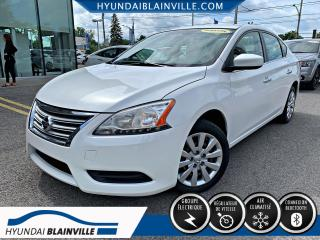 Used 2015 Nissan Sentra S, AUTO, AIR CLIM, GR ELECTRIQUE for sale in Blainville, QC