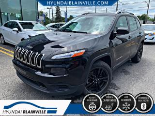 Used 2015 Jeep Cherokee SPORT, AC. AUTO, BLUETOOTH, BANCS CHAUFF for sale in Blainville, QC