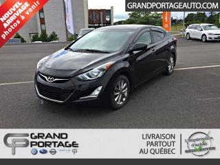 Used 2014 Hyundai Elantra Berline 4 portes, boîte automatique, GLS for sale in Rivière-Du-Loup, QC