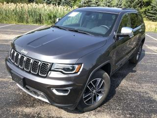 Used 2018 Jeep Grand Cherokee LIMITED 4WD for sale in Cayuga, ON