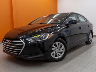 Used 2017 Hyundai Elantra L ECOSHIFT *SIEGES CHAUFF* CLIMATISEUR *USB* PROMO for sale in St-Jérôme, QC