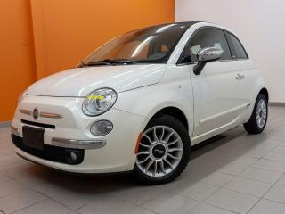Used 2014 Fiat 500 C LOUNGE *CONVERTIBLE* SIEGES CHAUF *BLUETOOTH PROMO for sale in St-Jérôme, QC