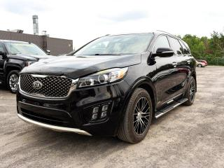 Used 2018 Kia Sorento SX V6 AWD *7 PLACES* CUIR *TOIT PANO* NAVI *PROMO for sale in St-Jérôme, QC