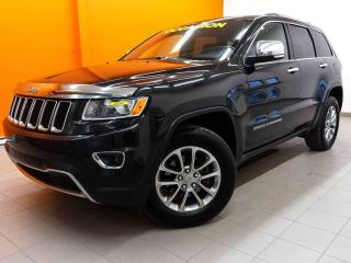 Used 2014 Jeep Grand Cherokee LIMITED 4X4 *TOIT* NAVIGATION *SIEGES CHAUF* PROMO for sale in St-Jérôme, QC