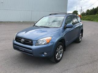 Used 2008 Toyota RAV4 4 portes, 4 roues motrices V6 Sport for sale in Quebec, QC