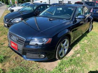 Used 2011 Audi A4 2.0T Quattro w/ Tiptronic for sale in Peterborough, ON