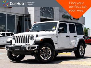 New 2020 Jeep Wrangler Unlimited New SAHARA 2.0 Turbo Dual Top ALPINE Sound Navigation Blind Spot for sale in Thornhill, ON