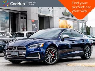 Used 2018 Audi S5 Sportback Quattro Technik Bang Olufsen Sound Sunroof Navigation Heated Seats for sale in Thornhill, ON