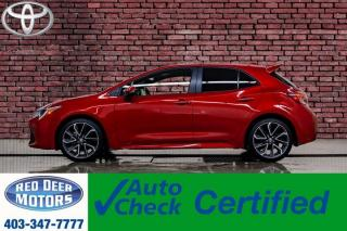 Used 2019 Toyota Corolla SE Hatchback BCam Bluetooth for sale in Red Deer, AB