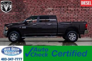 Used 2016 RAM 3500 4x4 Mega Cab SLT Diesel AISIN Bcam for sale in Red Deer, AB