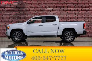 Used 2018 GMC Canyon 4x4 Crew Cab Denali Leather Nav Bcam for sale in Red Deer, AB