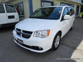 Used 2018 Dodge Grand Caravan FAMILY MOVING CREW EDITION 7 PASSENGER 3.6L - V6.. CAPTAINS.. FULL STOW-N-GO.. ECON-BOOST-PACKAGE.. HEATED SEATS.. BACK-UP CAMERA.. BLUETOOTH.. for sale in Bradford, ON