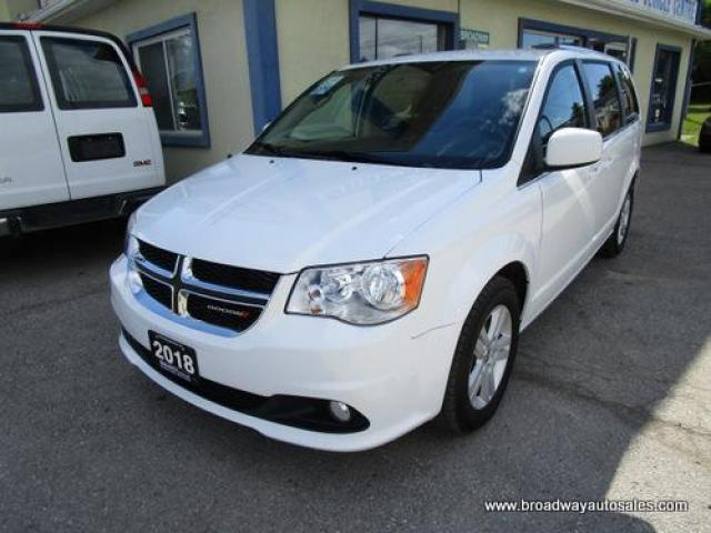 2018 Dodge Grand Caravan FAMILY MOVING CREW EDITION 7 PASSENGER 3.6L - V6.. CAPTAINS.. FULL STOW-N-GO.. ECON-BOOST-PACKAGE.. HEATED SEATS.. BACK-UP CAMERA.. BLUETOOTH..