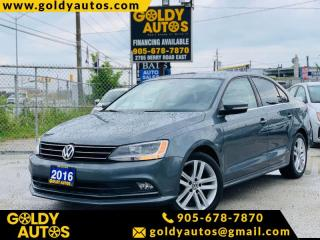 Used 2016 Volkswagen Jetta Sedan 4DR 1.8 TSI AUTO HIGHLINE for sale in Mississauga, ON