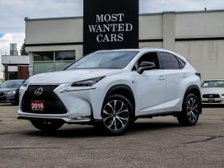 Used 2016 Lexus NX 200t LUXURY F-SPORT PACKAGE| SUNROOF for sale in Kitchener, ON
