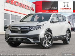 New 2020 Honda CR-V LX REMOTE ENGINE STARTER | HONDA SENSING TECHNOLOGIES | HEATED SEATS for sale in Cambridge, ON