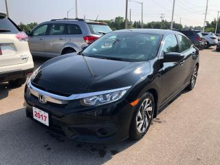 Used 2017 Honda Civic EX LANEWATCH CAMERA | APPLE CARPLAY™ & ANDROID AUTO™ | ECON MODE for sale in Cambridge, ON