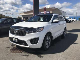 Used 2016 Kia Sorento AWD SX+ V6 (7-Seater) for sale in Thunder Bay, ON