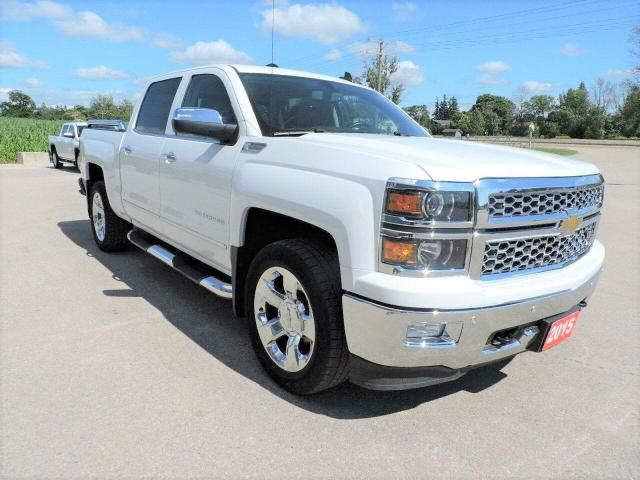 2015 Chevrolet Silverado 1500 LTZ/GFX Navigation 4X4 New brakes and tires