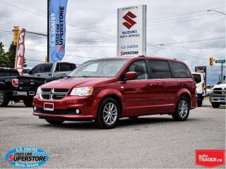 Used 2014 Dodge Grand Caravan 30th Anniversary ~Nav ~DVD ~Backup Cam ~Leather for sale in Barrie, ON