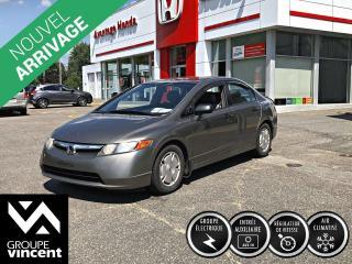 Used 2008 Honda Civic DX-G ** AUTOMATIQUE+CLIMATISEUR ** Parfait comme première voiture! for sale in Shawinigan, QC