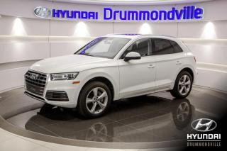 Used 2018 Audi Q5 PROGGRESIV + GARANTIE + TOIT PANO + CUIR for sale in Drummondville, QC