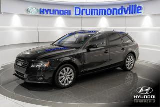 Used 2012 Audi A4 GARANTIE + TOIT PANO + QUATTRO + CUIR + for sale in Drummondville, QC