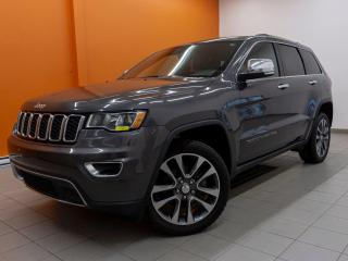 Used 2018 Jeep Grand Cherokee LIMITED CUIR 4X4 *SIEGES CHAUFFANTS* CAMERA *PROMO for sale in Mirabel, QC