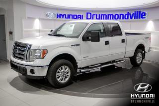 Used 2012 Ford F-150 XLT + GARANTIE + A/C + CRUISE + 4X4 + WO for sale in Drummondville, QC