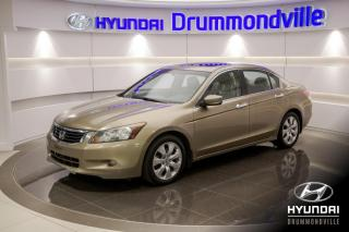 Used 2008 Honda Accord EX-L + TOIT + CUIR + MAGS + A/C + WOW !! for sale in Drummondville, QC