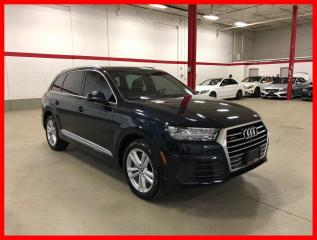 Used 2017 Audi Q7 3.0T TECHNIK S-LINE SPORT for sale in Vaughan, ON