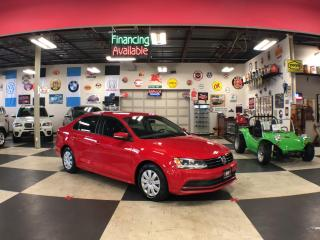 Used 2016 Volkswagen Jetta Sedan 1.4TSI TRENDLINE  AUT0 A/C BLUETOOTH CAMERA for sale in North York, ON
