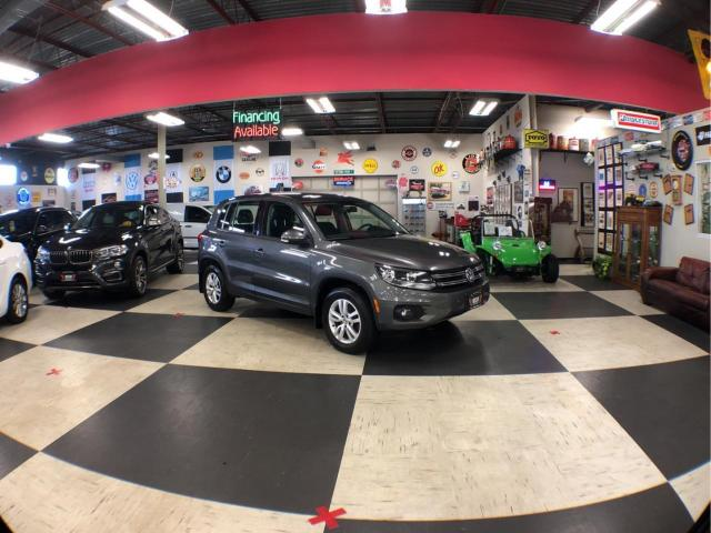 2013 Volkswagen Tiguan 2.0 TSI TRENDLINE 6 SPEED CRUSIE H/SEATS ALLOY WHEELS