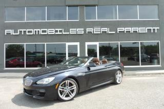 Used 2012 BMW 650i CABRIOLET - M PACK - for sale in Québec, QC