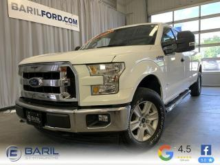 Used 2017 Ford F-150 Cabine Super 4RM 163 po XLT for sale in St-Hyacinthe, QC
